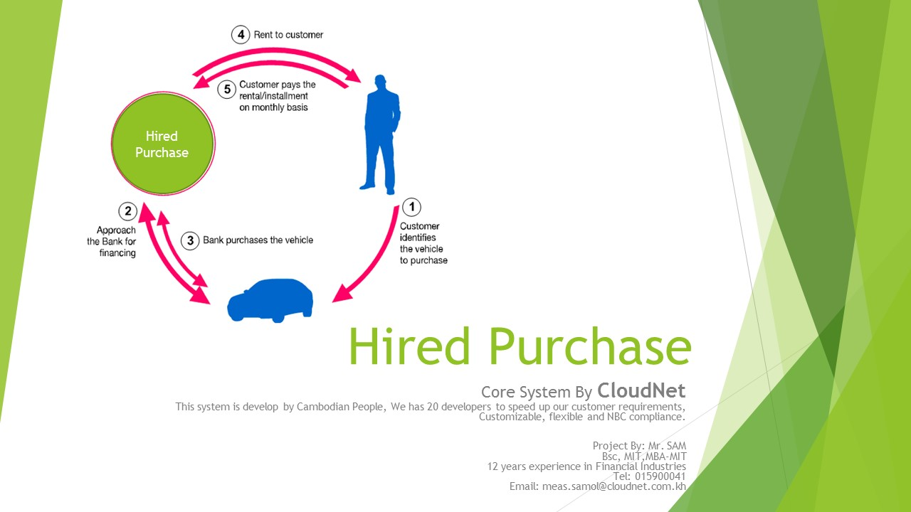 Hire Purchase Loan Management Software Thailand Myanmar Cambodia